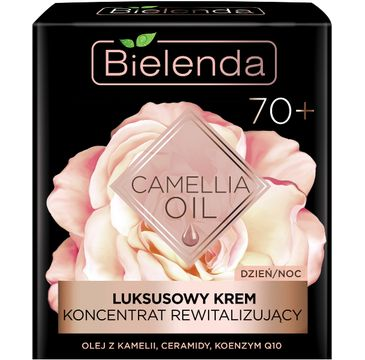 Bielenda Camellia Oil krem 70+ (luksusowy koncentrat rewitalizujący na dzień i noc 50 ml)