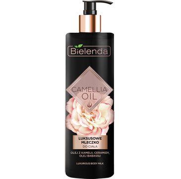 Bielenda Camellia Oil luksusowe mleczko do ciała (400 ml)