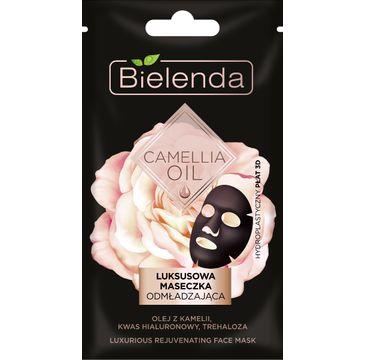 Bielenda Camellia Oil maseczka (luksusowa odmładzająca w płacie 3D 1 szt.)