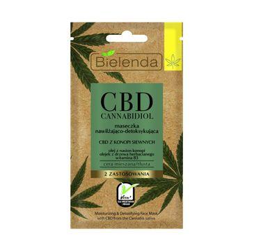 Bielenda Cannabidiol CBD (maseczka nawilżająco-detoksykująca 8 g)