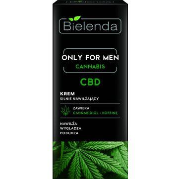 Bielenda Cannabis – krem silnie nawilżający CBD Only For Men (50 ml)