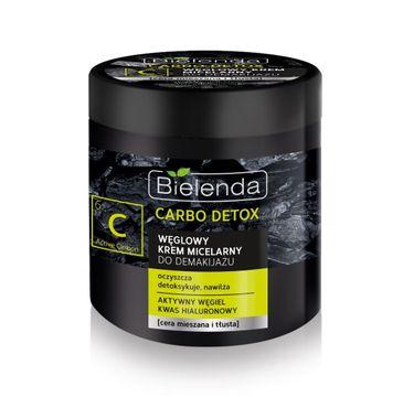 Bielenda Carbo Detox krem węglowy micelarny do demakijażu 250 ml