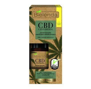 Bielenda CBD Cannabidiol serum booster (nawilżająco-detoksykujące z CBD z konopi siewnych 15 ml)