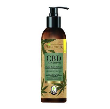 Bielenda CBD emulsja do mycia twarzy (nawilżająco-detoksykująca 150 g)