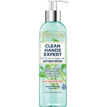 Bielenda – Clean Hands Ex żel do mycia i higieny rąk z pompką (200 g)