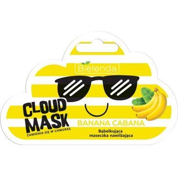 Bielenda Cloud Mask (bąbelkująca maseczka nawilżająca Banana Cabana 1 op.)