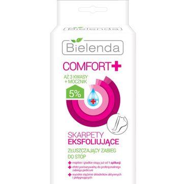Bielenda Comfort+ – skarpety eksfoliujące do stóp (1 op.)