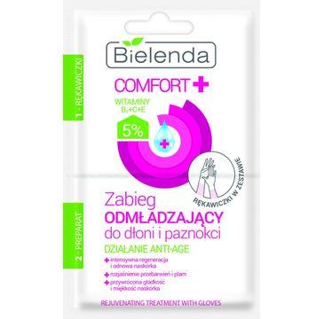 Bielenda Comfort + – zabieg odmładzający do dłoni i paznokci (10 ml)