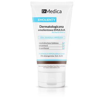 Bielenda Dr Medica Emolienty – dermatologiczna emulsja do mycia twarzy – cera dojrzała i wrażliwa (150 ml)