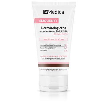 Bielenda Dr Medica Emolienty – dermatologiczna emulsja do mycia twarzy – cera sucha i wrażliwa (150 ml)