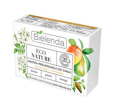 Bielenda – Eco Nature kostka do ciała peelingująca oczyszczająco-nawilżająca (80 g)