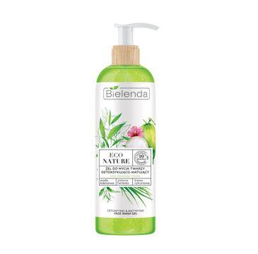 Bielenda 鈥� Eco Nature 呕el do mycia twarzy Woda Kokosowa  Zielona Herbata (200 ml)