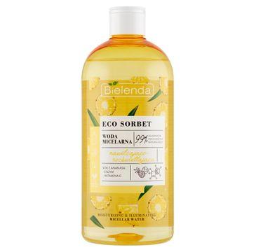 Bielenda Eco Sorbet Ananas Woda micelarna nawilżająco-rozświetlająca (500 ml)