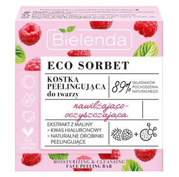 Bielenda – Eco Sorbet kostka peelingująca do twarzy (60 g)
