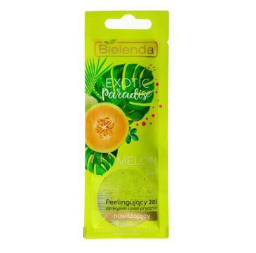 Bielenda Exotic Paradise – żel peelingujący do ciała nawilżający Melon (25 g)