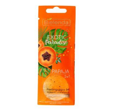 Bielenda Exotic Paradise – żel peelingujący do ciała regenerujący Papaja (25 g)
