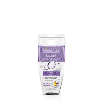 Bielenda Expert Czystej Skóry – płyn dwufazowy odżywczy do demakijażu oczu i ust (150 ml)