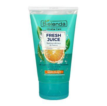 Bielenda Fresh Juice – peeling cukrowy nawilżający Pomarańcza (150 ml)