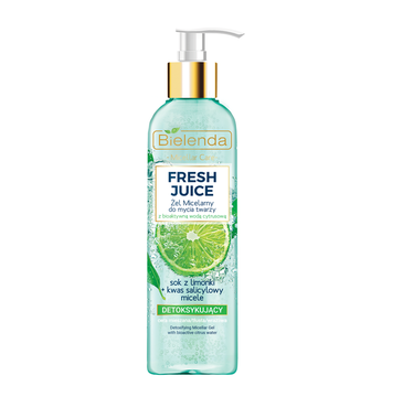 Bielenda Fresh Juice żel micelarny detoksykujący Limonka (190 g)