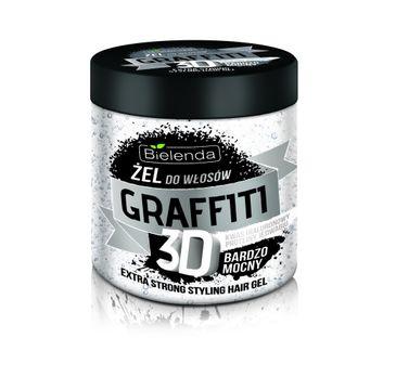 Bielenda Graffiti 3D – żel do układania włosów bardzo mocny (250 ml)