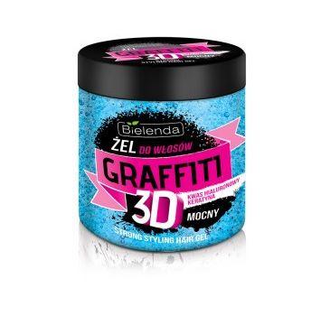 Bielenda Graffiti 3D – żel do układania włosów mocny z odżywką (250 ml)