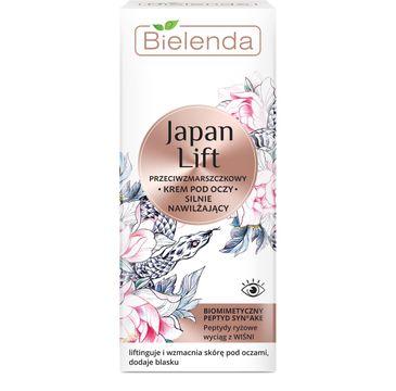 Bielenda Japan Lift – nawilżający krem pod oczy przeciwzmarszczkowy (15 ml)