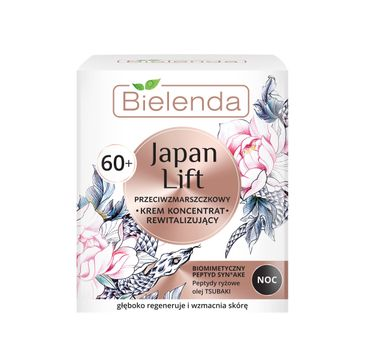 Bielenda Japan Lift – rewitalizujący krem-koncentrat przeciwzmarszczkowy na noc 60+ (50 ml)