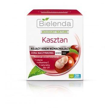 Bielenda Kasztan – krem wzmacniający – cera naczynkowa (50 ml)