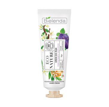 Bielenda – Krem do rąk regenerująco-odżywczy Eco Nature (50 ml)