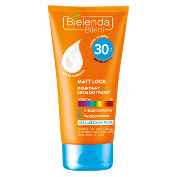 Bielenda Bikini – ochronny krem do twarzy wodoodporny SPF 30 (50 ml)