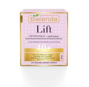 Bielenda Lift – krem-koncentrat liftingująco-ujędrniający na noc 40+ (50 ml)