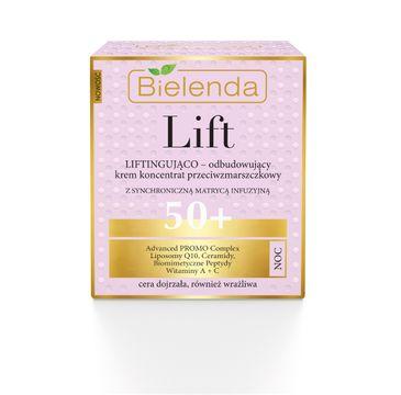 Bielenda Lift – krem-koncentrat liftingująco-odbudowujący na noc 50+ (50 ml)