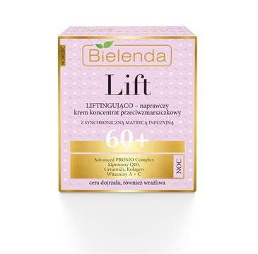 Bielenda Lift – krem-koncentrat liftingująco-naprawczy na noc 60+ (50 ml)