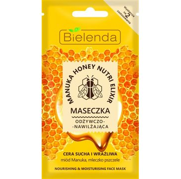 Bielenda Manuka Honey Nutri Elixir – maseczka odżywczo-nawilżająca (8 g)