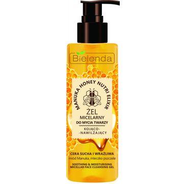 Bielenda Manuka Honey Nutri Elixir – żel micelarny do mycia twarzy kojąco-nawilżający (200 g)
