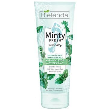 Bielenda – Minty Fresh Foot Care krem do stóp odświeżająco-wygładzający antyperspirant (100 ml)