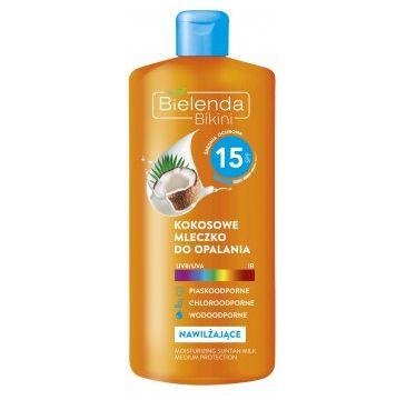 Bielenda Bikini – mleczko do opalania kokosowe SPF 15 (200 ml)