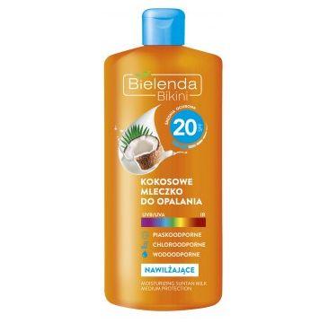 Bielenda Bikini – mleczko do opalania kokosowe SPF 20 (200 ml)
