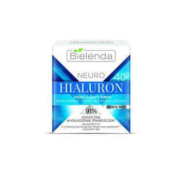 Bielenda Neuro Hialuron – nawilżający krem-koncentrat przeciwzmarszczkowy 40+ (50 ml)