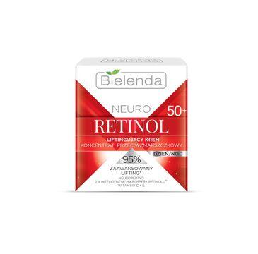 Bielenda Neuro Retinol – krem-koncentrat liftingujący przeciwzmarszczkowy na dzień i noc 50+ (50 ml)