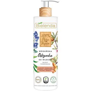 Bielenda – Odżywka do włosów farbowanych 100% Pure Vegan (240 ml)