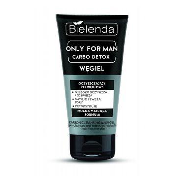 Bielenda Only For Men Carbo Detox – żel węglowy oczyszczający (150 g)
