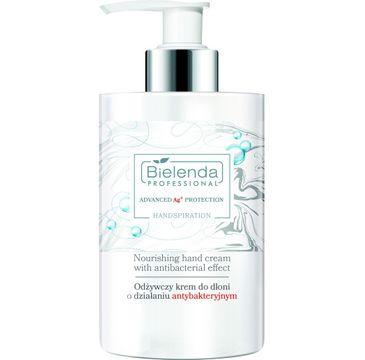 Bielenda Professional Advanced Protection Handspiration Odżywczy krem do dłoni o działaniu antybakteryjnym (300 ml)