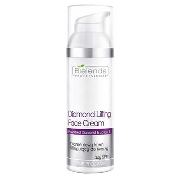 Bielenda Professional Face Program Diamond Lifting Face Cream – diamentowy krem liftingujący do twarzy SPF 15 (50 ml)