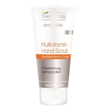 Bielenda Professional Multivitamin Hand Scrub – multiwitaminowy peeling do rąk (175 g)