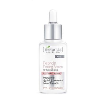 Bielenda Professional Peptide Firming Serum – peptydowe serum ujędrniające na okolice oczu (30 ml)