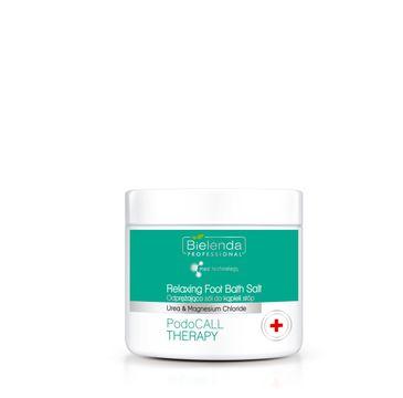 Bielenda Professional PodoCall Therapy Urea&Magnesium Chloride Odprężająca sól do kąpieli stóp (500 g)