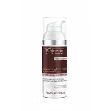Bielenda Professional Regenerating Face Cream – regenerujący krem do twarzy z ekstraktem ze śluzu ślimaka SPF15 (100 ml)