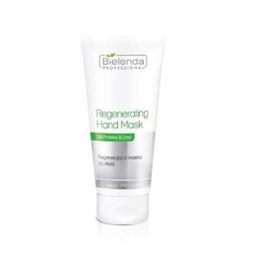 Bielenda Professional – Regenerating Hand Mask Silk Proteins & Urea regenerująca maska do dłoni (175 ml)