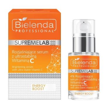 Bielenda Professional Supremelab Energy Boost rozjaśniające serum ze stabilną Witaminą C (15 ml)
